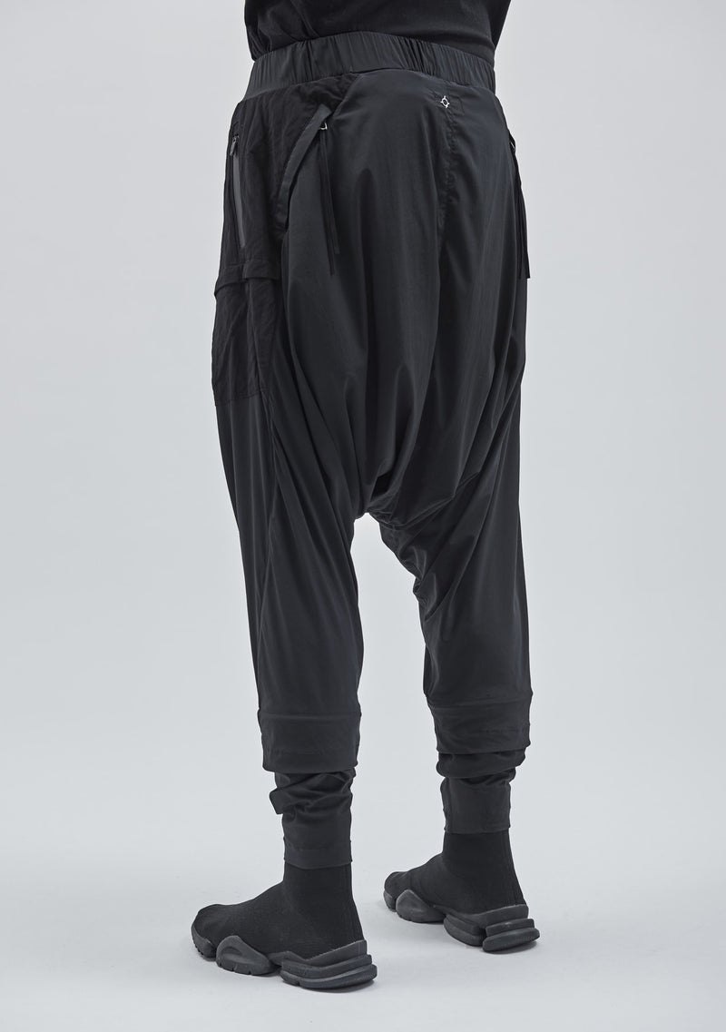 esku dropcrotch pants technical poplin