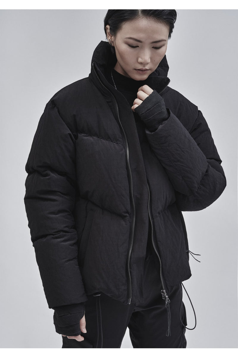 askatu puffer jacket nylon metal