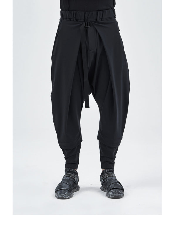 aldatze dropcrotch j-shaped technical pants