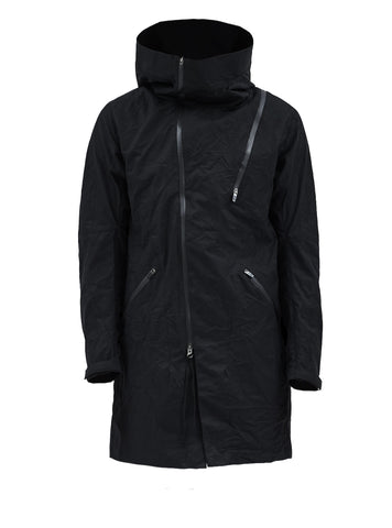 leioa asymmetrical coat stotz etaproof