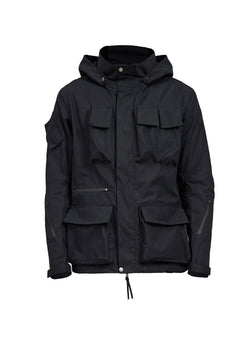 zerain stotz etaproof swiss army jacket black