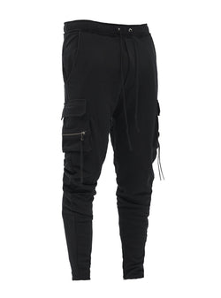 larai cargo sweatpants black
