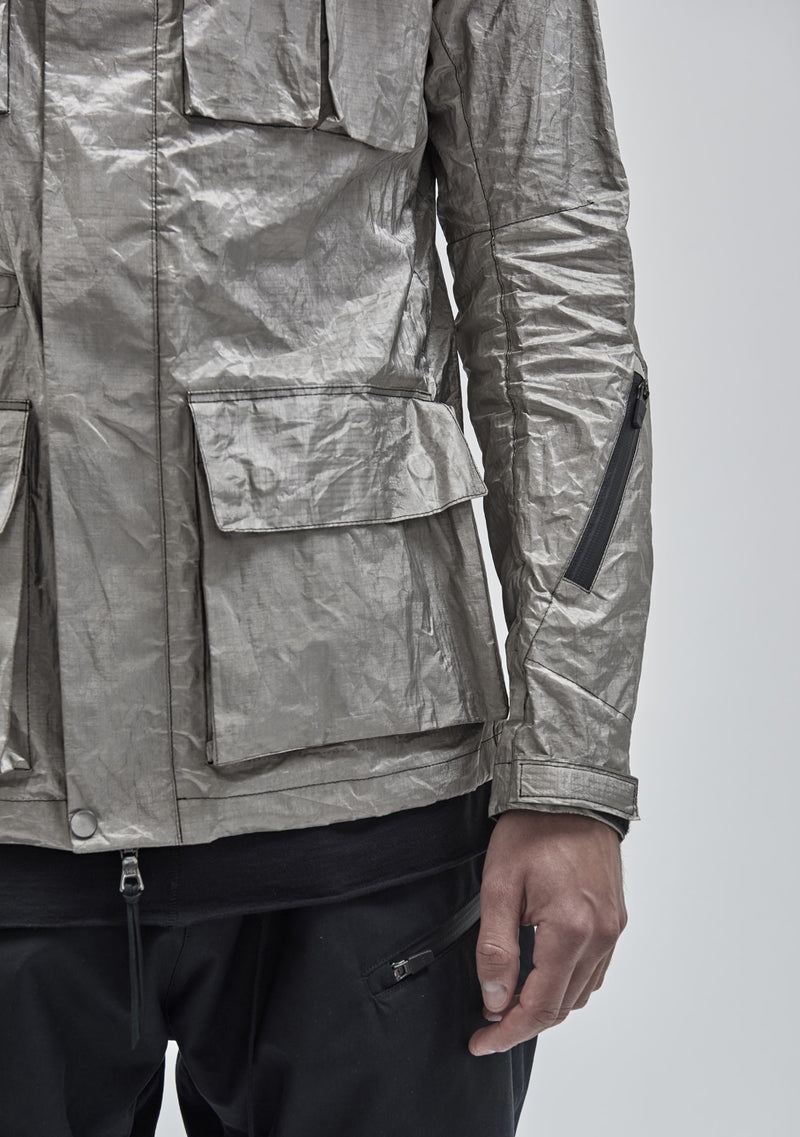 zerain jacket silver plated