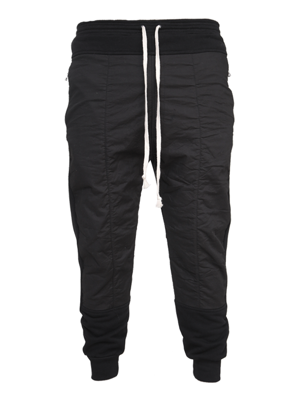 zarautz panelled sweatpants black