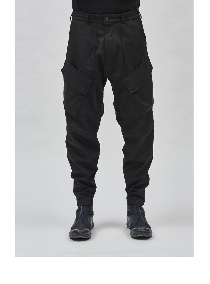 aurrean cargo pants black