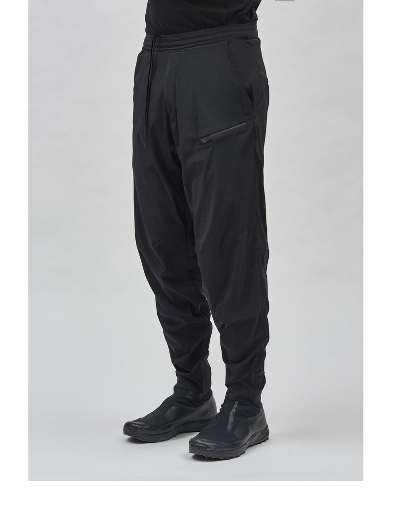 alde technical poplin pants black