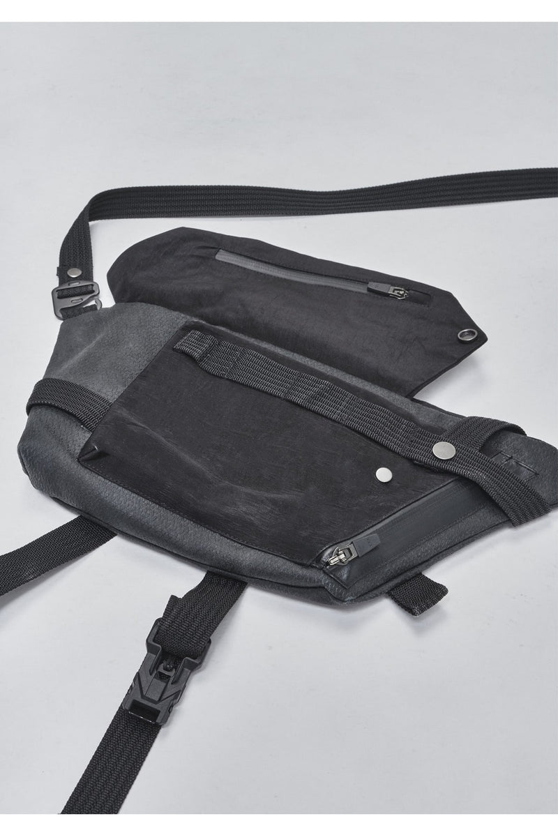 erein crossbody bag nylon metal / kevlar
