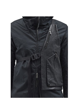 xerra vest kangaroo leather