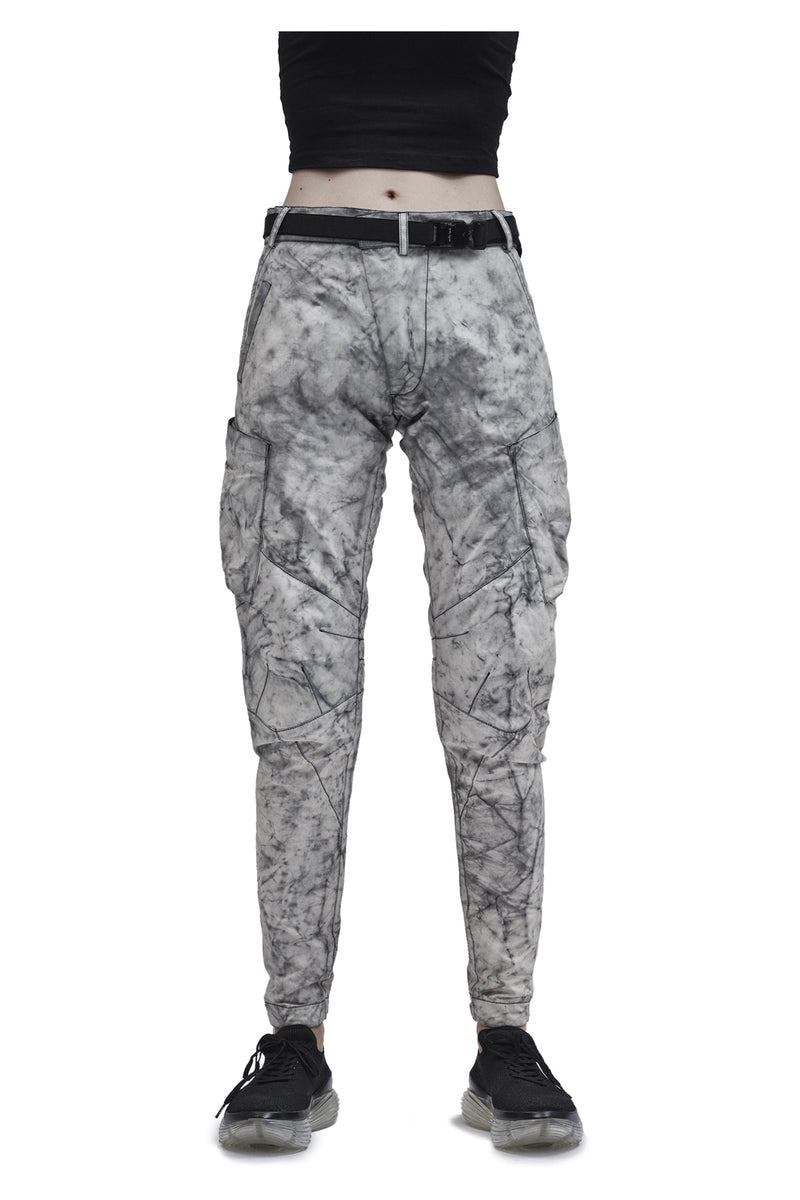 ameztu technical cargo pants etaproof glacier dye