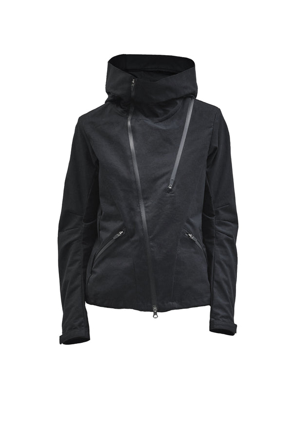 leioa asymmetrical jacket etaproof