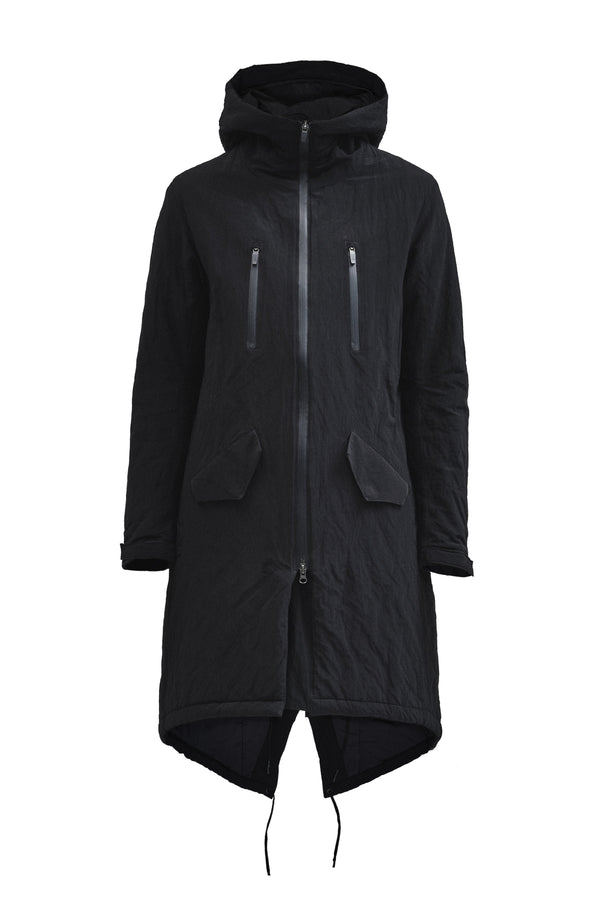 lurrin fishtail parka nylon metal
