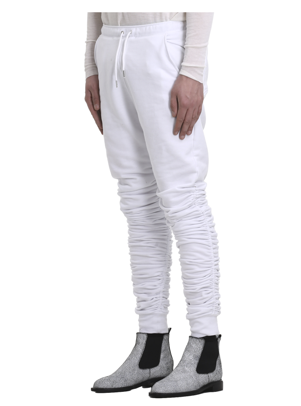maeztu adjustable sweatpants white