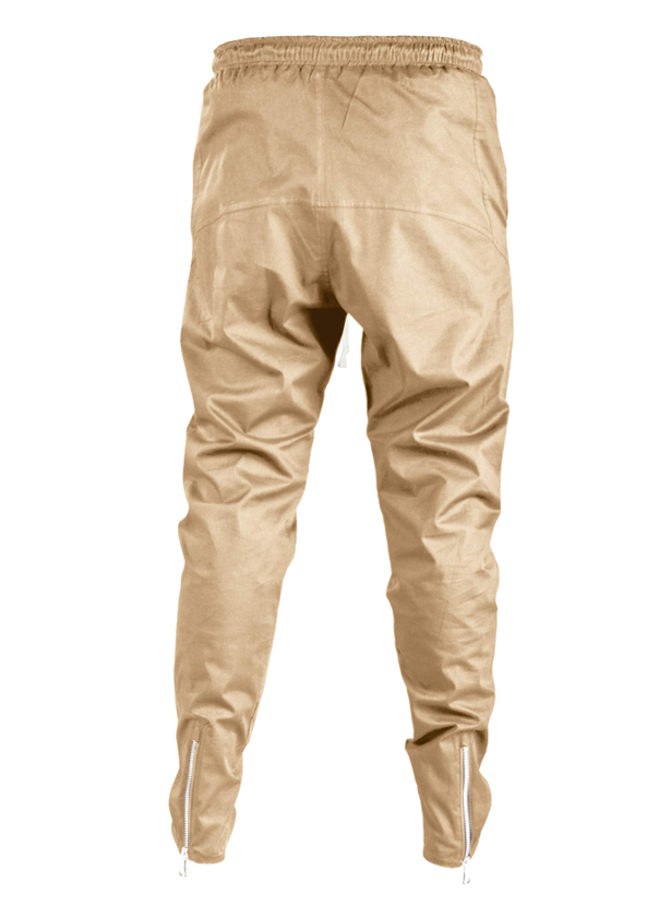 ergoi cotton poplin sweatpants beige