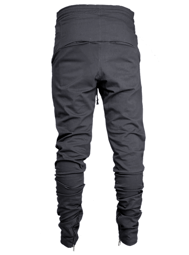 lantz twill pants gray