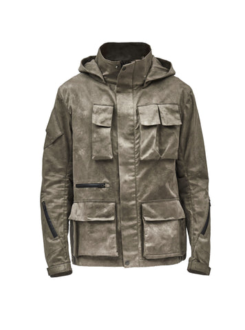 zerain camo dye swiss army jacket