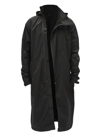 nagore asymmetrical raincoat