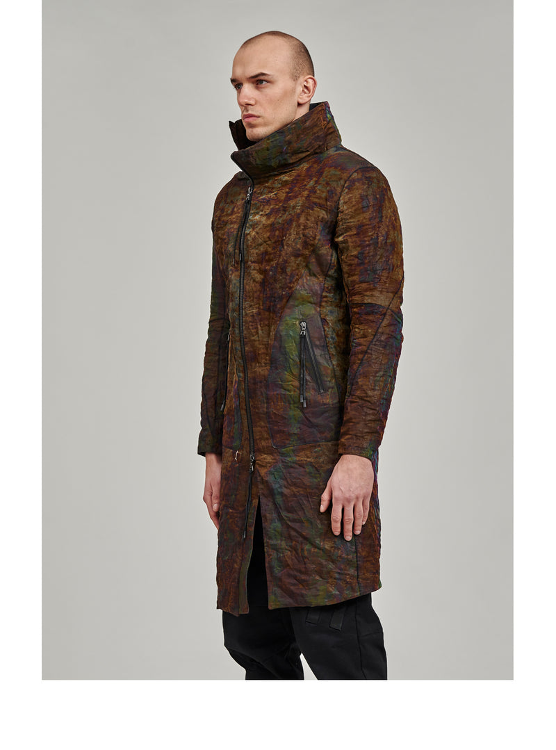 getaria thermaltech asymmetrical coat