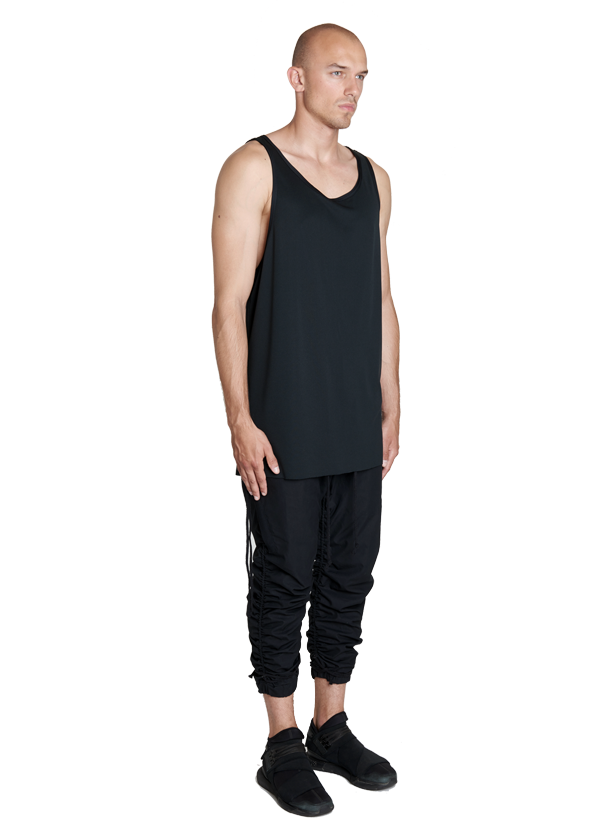 etsain technical tank top black