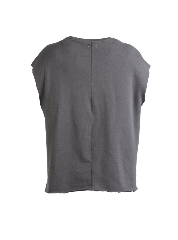 albiz sleeveless sweatshirt grey