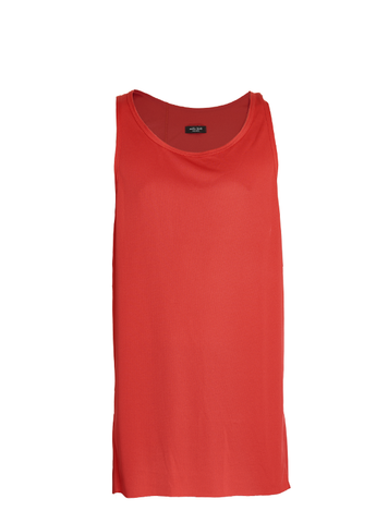 etsain technical tank top red