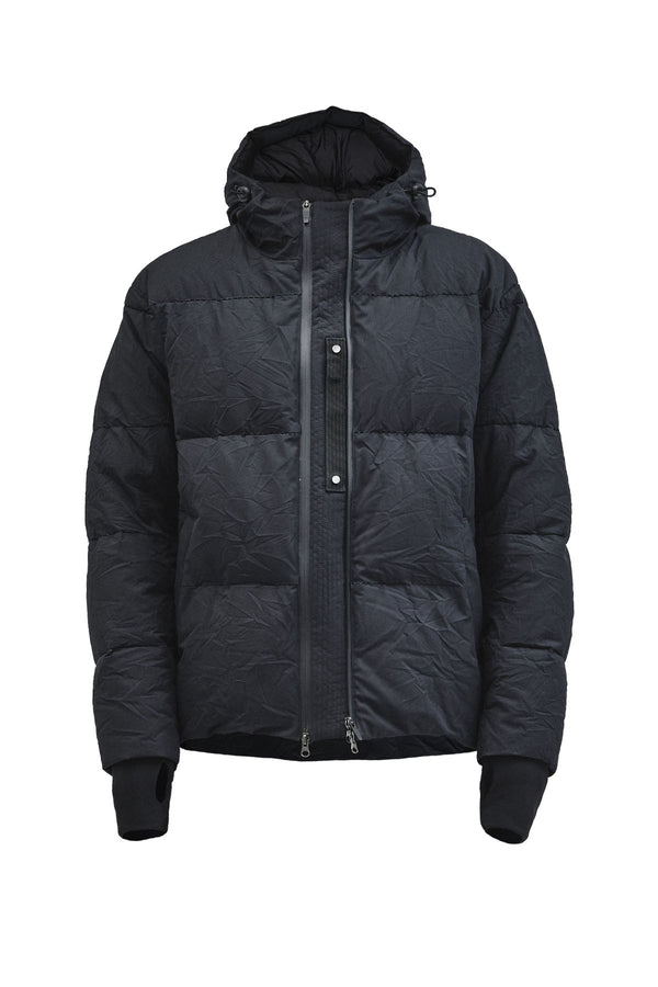 arrano puffer jacket etaproof black