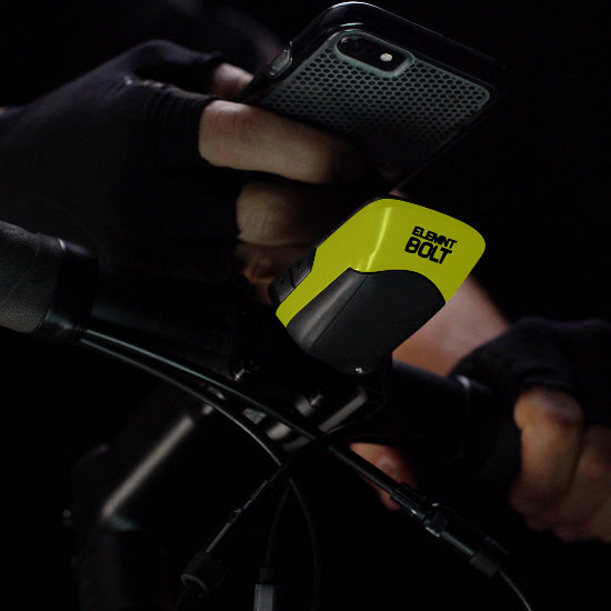 Wahoo ELEMNT BOLT GPS Bike Computer - Limited Edition Yellow