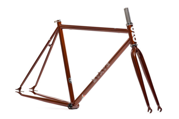"""Sokol"" Copper Frame Set - Double Butted 4130 Chromoly Steel Tubing"