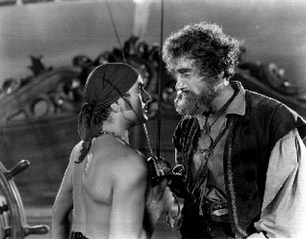 Black Swan Two Pirates Arguing Scene Excerpt from Film Premium Art Print
