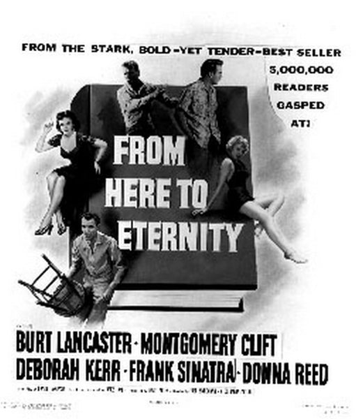From Here To Eternity Poster with Cast Premium Art Print