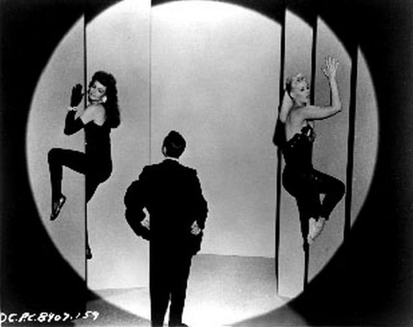 Pal Joey Three People in Black and White Premium Art Print