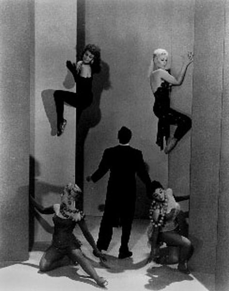 Pal Joey Five People Posed in Black and White Premium Art Print