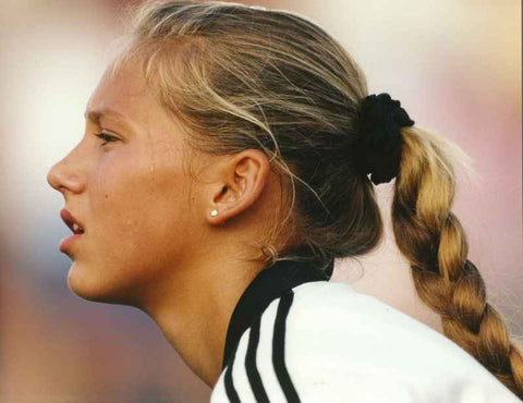 Anna Kournikova Close Up Portrait from Tennis Game High Quality Photo