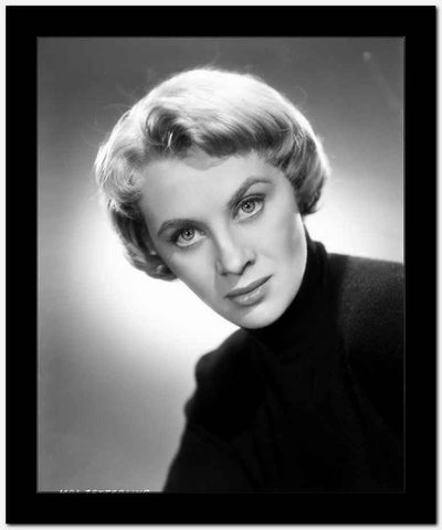 Mai Zetterling Posed in Black Sweater High Quality Photo