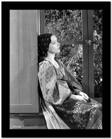 Lupe Velez Looking Away in Printed Blouse High Quality Photo