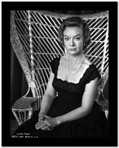 Jo Van Fleet Seated in Classic High Quality Photo