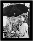 Natalie Wood Holding an Umbrella High Quality Photo