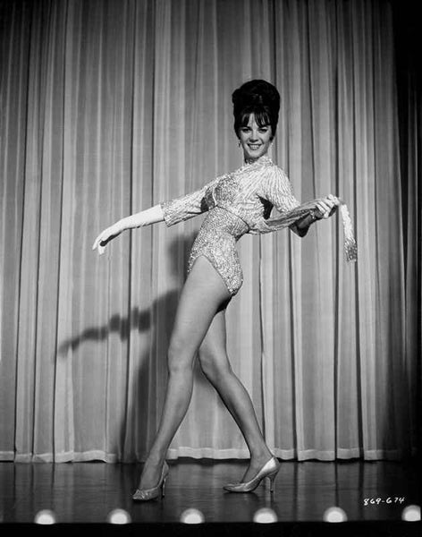 Natalie Wood Dance Pose Premium Art Print
