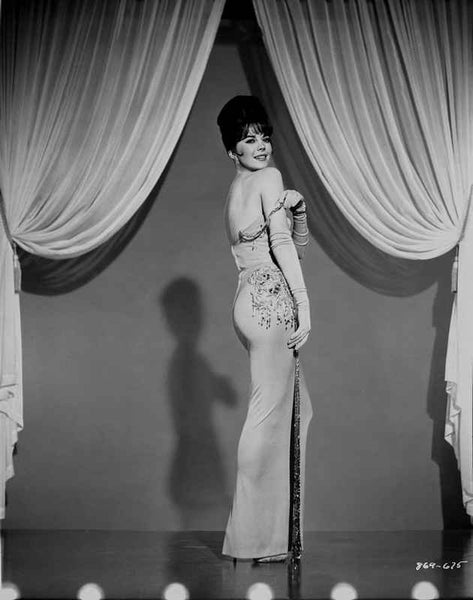 Natalie Wood posed in a Side View Premium Art Print