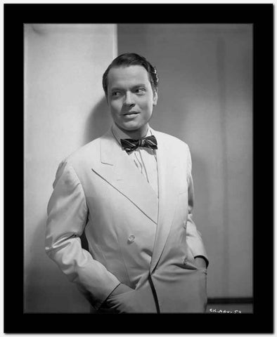 Orson Welles Hands on Pocket in Tuxedo High Quality Photo