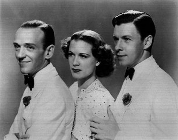 Broadway Melody Of 1938 Group Portrait in Black and White Premium Art Print