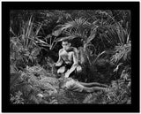 Johnny Weissmuller Killed a Man in a Classic Movie Scene High Quality Photo