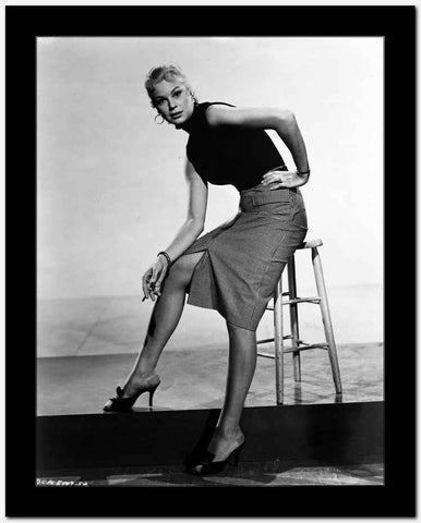 Betsy Palmer Seated in Classic High Quality Photo
