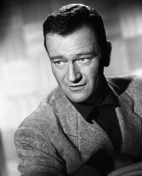 John Wayne in a suit coat Premium Art Print