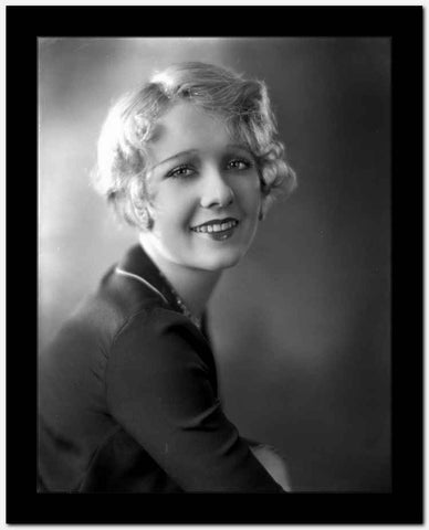 Anita Page smiling Portrait High Quality Photo