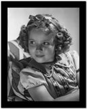 Shirley Temple wearing a Dress with Matching Hair Band High Quality Photo