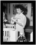 Elizabeth Taylor Baking in Classic Portrait High Quality Photo