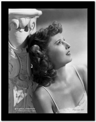 Barbara Stanwyck Day Dreaming Classic Portrait High Quality Photo