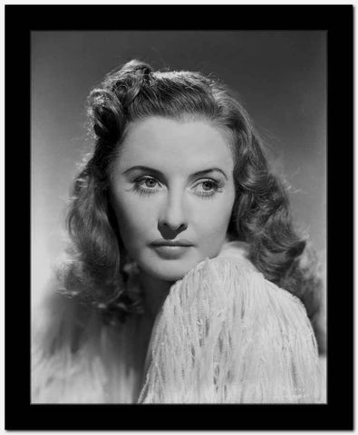 Barbara Stanwyck Classic Side View Portrait High Quality Photo