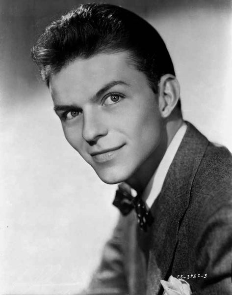 Frank Sinatra in Suit with a Smirk Premium Art Print