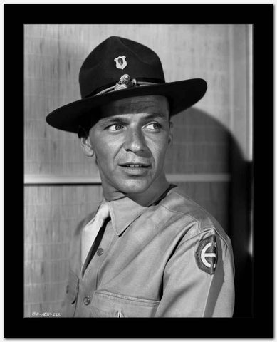 Frank Sinatra in a Ranger Uniform High Quality Photo